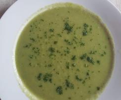 Zucchinisuppe ( vegan/ glutenfrei )