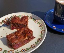 Kirschkuchen dunkel, womei s  Variante