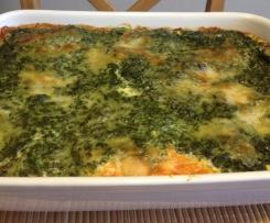 Rahmspinat-Lasagne