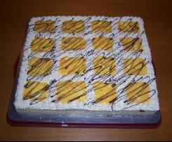 Beschwipste Banane - Blechkuchen