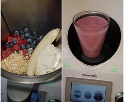 Frühstückssmoothie beeren shake frisch lecker schnell & gesund