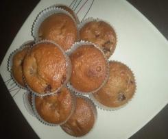Himbeer-Haferflocken-Muffins