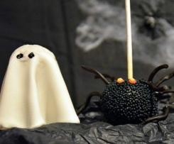 Kürbis-Törtchen & gruselige Cakepops