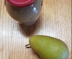 Birnen Marmelade passt prima zu Käse