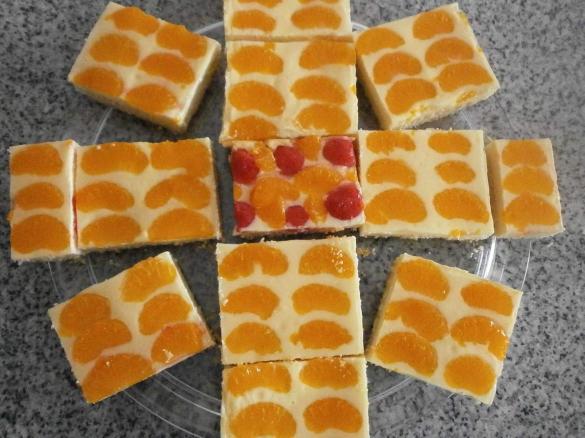 Quark Mandarinen Kuchen Vom Blech Von Chaosqueen Ein Thermomix