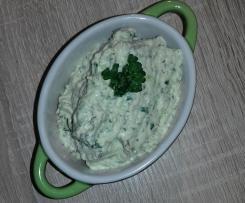 Zucchini-Lachs-Creme