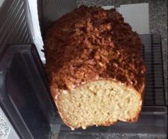 Vollkorn haferflocken - Quark Brot , Low Carb geeignet