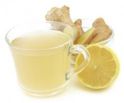 Ingwersirup für Tee oder Limonade
