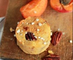 Frühstücks-Muffins mit Aprikosen und Pecannüssen