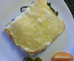 Spinat-Ricotta-Lasagne Low Carb