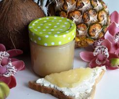 Fruchtaufstrich Pina Colada (alkoholfrei)