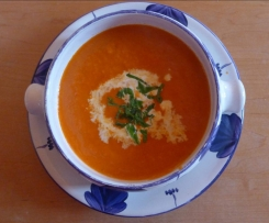 Paprikacreme-Suppe