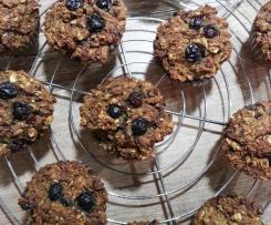 Gesunde Frühstückmuffins mit Süßkartoffeln (vegan)