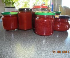 Erdbeer-Holunderblüten-Marmelade