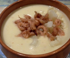 Kartoffel-Blumenkohl-Suppe á la Sansibar