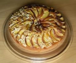 Schneller SOS Nektarinen Kuchen