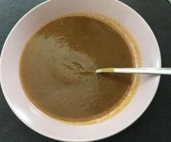 Karotten-/ Möhrensuppe ohne Sahne