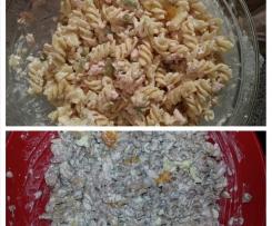 Schneller Nudelsalat (Dinkel od. Weizen)