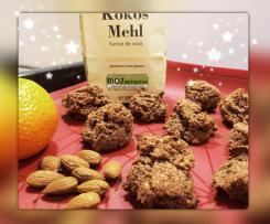 Weihnachtskekse zuckerfrei und gesund Clean Eating