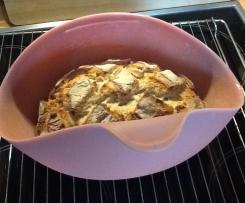 Joghurtkruste im Tchibo Silikonbräter