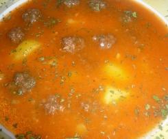 Sulu Köfte/Saftige Hackbällchen (Suppe)Türkisch