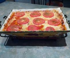 Gemüse-Lasagne (Low Carb)
