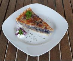 Rotkohl Tarte / Quiche mit Hackfleisch