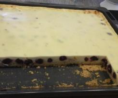 Kirsch-Käse-Kuchen vom Blech