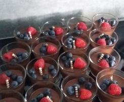 Mousse au chocolate auch für Kinder