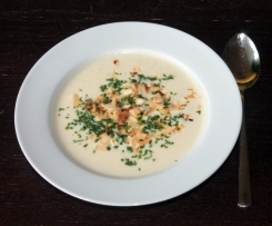 Blumenkohl-Buttermilch-Suppe