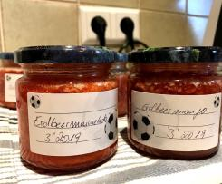 Marmelade mit Tiefkühlobst