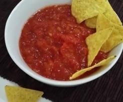 Hot Salsa Tortilla-Dip