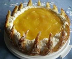 Apfel-Spitzen-Torte