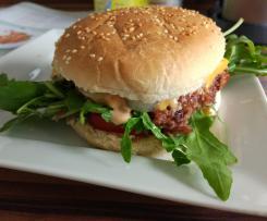 Veggie Burger (leckerer als Hamburger mit Fleisch-Patties!)
