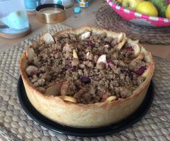 Pflaumenkuchen mit Streuseln Deluxe