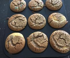 Glutenfreie fructosearme fluffige Muffins