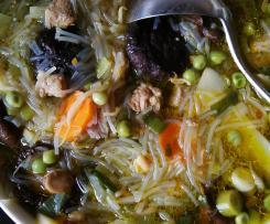 Pikante Chinasuppe