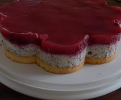 Himbeern- Schaumküsschen Torte
