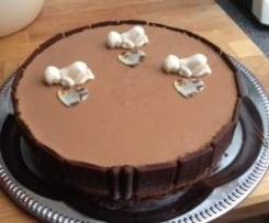 Schokoladen-Mousse-Torte-Eis