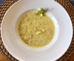 Variation Grünkernsuppe