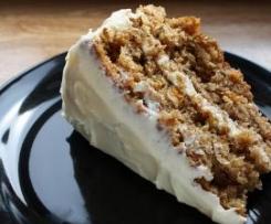 Rich Carrot Cake (Möhrenkuchen)