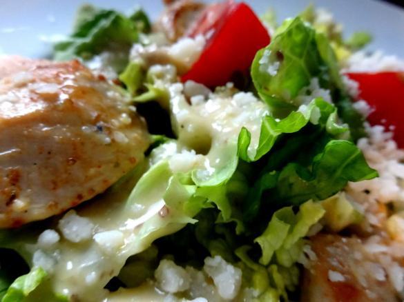 caesar 39 s salad caesar salat mit h hnchenbrust streifen von fett for fun thermi ein thermomix. Black Bedroom Furniture Sets. Home Design Ideas