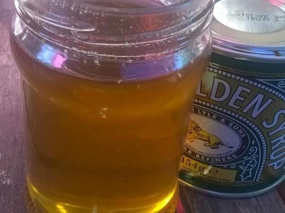 Gewinner Rezept Thermosimsas homemade golden syrup - Golden Sirup - Karamellsirup