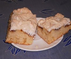 Pflaumen (Pfirsich) Zitronenkuchen