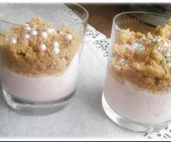 Vanille-Sand-Topping für Desserts