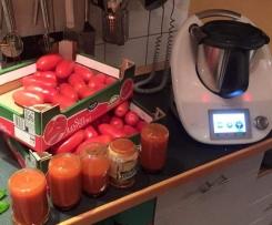 italienische Tomatensauce -auf Vorrat- Übersetzung aus der italienischen Rezeptwelt