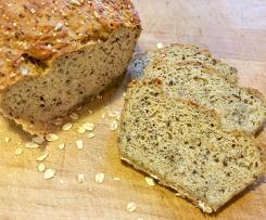 Leckeres Low Carb Brot (WW, Stoffwechselkur, vegan)