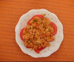 Thunfischsalat mit Pinienkernen