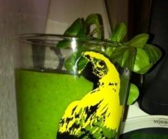 Thermosternchens giftgrüner Feldsalat Smoothie