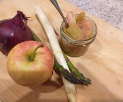 Apfel-Spargel-Chutney